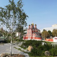 Собор Знаменского монастыря в парке Зарядье :: Владимир Прокофьев