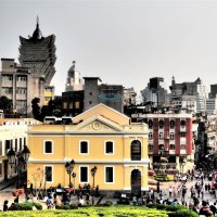 Панорамный вид на город Макао :: Swetlana V