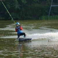 Водный спорт или покатушка по воде. :: Олег Пучков