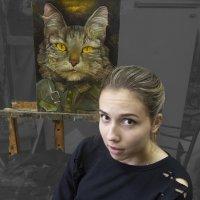 Девушка-кошка2 :: Евгений