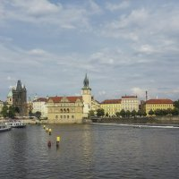 Вид на Мельничный полуостров. Прага. Чехия. :: Олег Кузовлев
