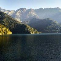 Озеро Рица в горах :: Ольга