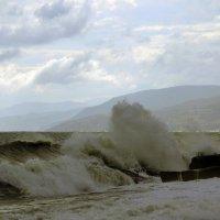 ... А когда на море качка, и бушует ураган,... :: barsuk lesnoi