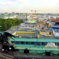 Вид на город с колоннады Исаакиевского собора  21 :: Сергей