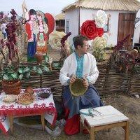 Украинские традиции. Плетение корзины :: Викторина Срыбна