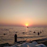 теплый вечер на море :: Алена