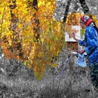 Рисующая осень :: Mikhail Irtyshskiy