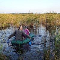 Хорошо на лодочке кататься :: Светлана Рябова-Шатунова