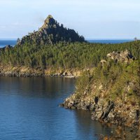 скала озера Байкал :: Георгий А