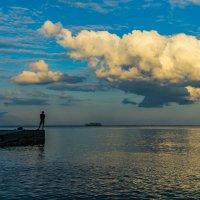 Закат на пляже в Ливадии. :: Павел © Смирнов