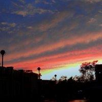 Небо на закате :: Зося Каминская