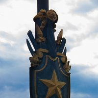 фрагмент фонарного столба :: Аркадий Баринов