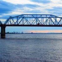 железнодорожный мост через реку  Кама :: Александр
