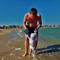 Первое знакомство с Красным морем... :: Sergey Gordoff
