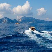 курс на остров капри :: юрий затонов