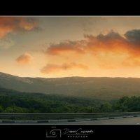 панорама вида на Чатыр Даг :: Солнечная Лисичка =Дашка Скугарева