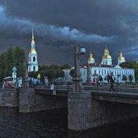 Николо-Богоявленский морской собор и Пикалов мост. :: Senior Веселков Петр