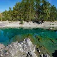Голубые озера (глаза Катуни) :: Алексей Мезенцев