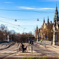 Апрельское утро в Стокгольме (3) :: Сергей В. Комаров