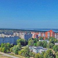 Вид из мастерской. :: Михаил Николаев