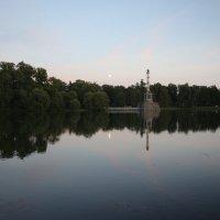 Большой пруд. Чесменская колонна :: Наталья Герасимова