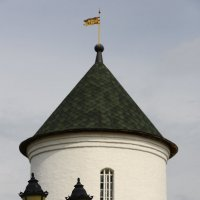 Башня Иоано-Богословского Макаровского монастыря. Саранск. :: Александр Беляков