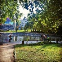 Осень в парке :: Ольга Винницкая (Olenka)