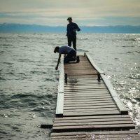 Люди и море :: Евгения Кирильченко