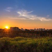 Осенний закат. :: Андрей Гриничев
