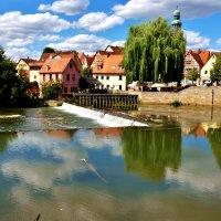 Облака купаются в реке, Как прекрасно это отраженье! :: backareva.irina Бакарева