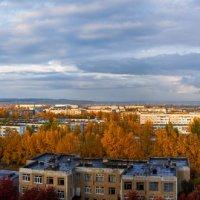 А из нашего окна,осень яркая видна... :: Николай Мальцев