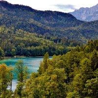 «Сказочное» Шванзее (Schwansee) – то самое Лебединое озеро, воспетое в легенде :: backareva.irina Бакарева