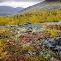 цветные склоны Хибинских гор :: Георгий А