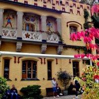 Внутренний  дворик  замка  Хоэншвангау :: backareva.irina Бакарева
