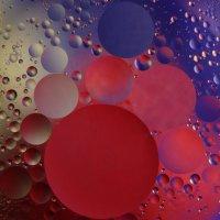 Капли масла на воде :: snd63 Сергей