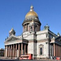 Исаакиевский собор. Вид на северный фасад. :: Galina Leskova