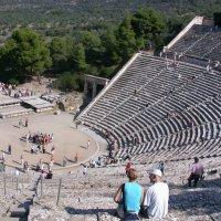 Античный театр, Эпидавр, Греция :: Генрих