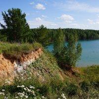 Берега озера :: Наталия Григорьева