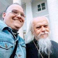 Встреча Епископ Пантелеомен Шатов :: Михаил Филатов