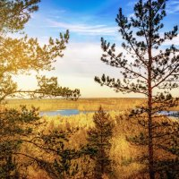 Вид с горы Сампо :: Юлия Новикова
