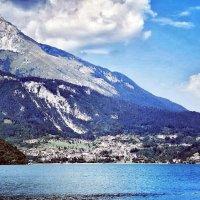 озеро в Альпах :: Сергей Беличев