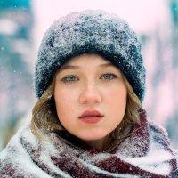 Lia - snow :: Сергей Романенко