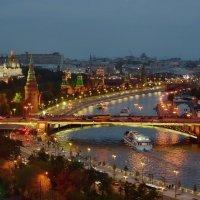 Огни вечерней Москвы :: Olcen Len