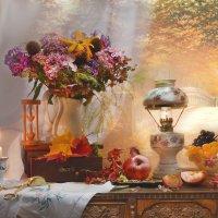 Осенний блюз поет моя душа… :: Валентина Колова
