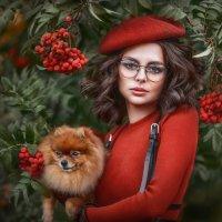 Девушка в беретке :: Илона Баимова