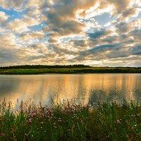 Вечернее озеро :: Владимир Деньгуб