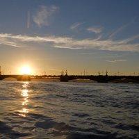 Закат по Питерски... :: tipchik
