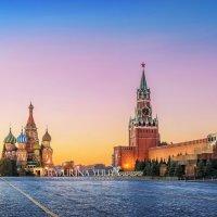 Предрассветная Красная Площадь :: Юлия Батурина