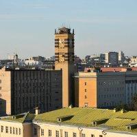 Башня Центрального корпуса Министерства обороны РФ (Малый Знаменский переулок). :: Наташа *****