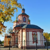Храм Воздвижения Креста Господня в Алтуфьеве :: Olcen Len